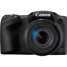 Canon PowerShot SX430 Compact camera, 20 MP, Optical zoom 45 x, Digital zoom 4 x, Image stabilizer, ISO 1600, Display diagonal 3.0