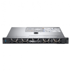 Dell PowerEdge R340 Rack (1U), Intel Xeon, E-2244G, 3.8 GHz, 8 MB, 8T, 4C, UDIMM DDR4, 2666 MHz, No RAM, No HDD, Up to 4 x 3.5
