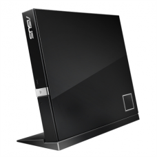 ASUS SBC-06D2X-U External Slim Blu-ray read Drive,  Black, BDXL support, 6X Blu-ray reading speed, USB 2.0 Asus