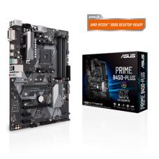 Asus PRIME B450-PLUS Processor family AMD, Processor socket AM4, Memory slots 4, Chipset AMD B, ATX