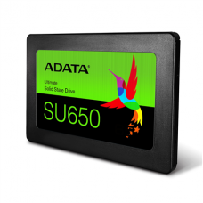 "ADATA Ultimate SU650 3D NAND SSD 480 GB, SSD form factor 2.5"", SSD interface SATA, Write speed 450 MB/s, Read speed 520 MB/s"
