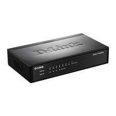 D-Link Switch DES-1008P Unmanaged, Desktop, 10/100 Mbps (RJ-45) ports quantity 8, PoE ports quantity 4, Power supply type Single