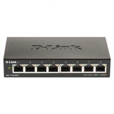 D-Link Smart Gigabit Ethernet Switch DGS-110-08V2 Managed, Desktop, Power supply type External, Ethernet LAN (RJ-45) ports 8