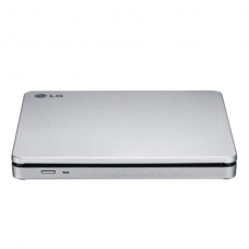 H.L Data Storage Slot Type Slim Portable DVD-Writer GP70NS50 Interface USB 2.0, DVD±RW, CD read speed 24 x, CD write speed 24 x, Silver, Desktop/NOtebook