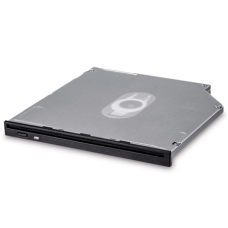 H.L Data Storage 9.5mm Slot loading Slim Internal DVD-W GS40N Internal, Interface SATA, DVD±RW, CD read speed 24 x, CD write speed 24 x, Black