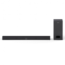 Sharp HT-SBW110 2.1 Slim Soundbar 180 W, 80 cm with External Subwoofer, HDMI, Optical, Bluetooth