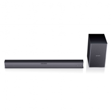 Sharp HT-SBW182 2.1 Slim Soundbar HDMI, Optical, Bluetooth, 160 W, 74 cm with Wireless Subwoofer