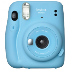 Fujifilm Instax Mini 11 Camera Focus 0.3 m - ∞, Sky Blue