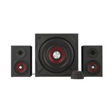 Genesis Computer speakers 2.1 Helium 600 NCS-0856 60 W, Portable, Black, red