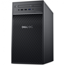 Dell PowerEdge T40 Tower, Intel Xeon, E-2224G, 3.5 GHz, 8 MB, 4T, 4C, UDIMM DDR4, 2666 MHz, 1000 GB, Up to 3 x 3.5