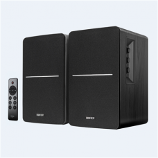 Edifier Powered Bluetooth Bookshelf Speakers R1280DBS Black, Bluetooth, Wireless connection