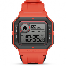 Amazfit Neo Smart watch, STN, Heart rate monitor, Activity monitoring 24/7, Waterproof, Bluetooth, Red